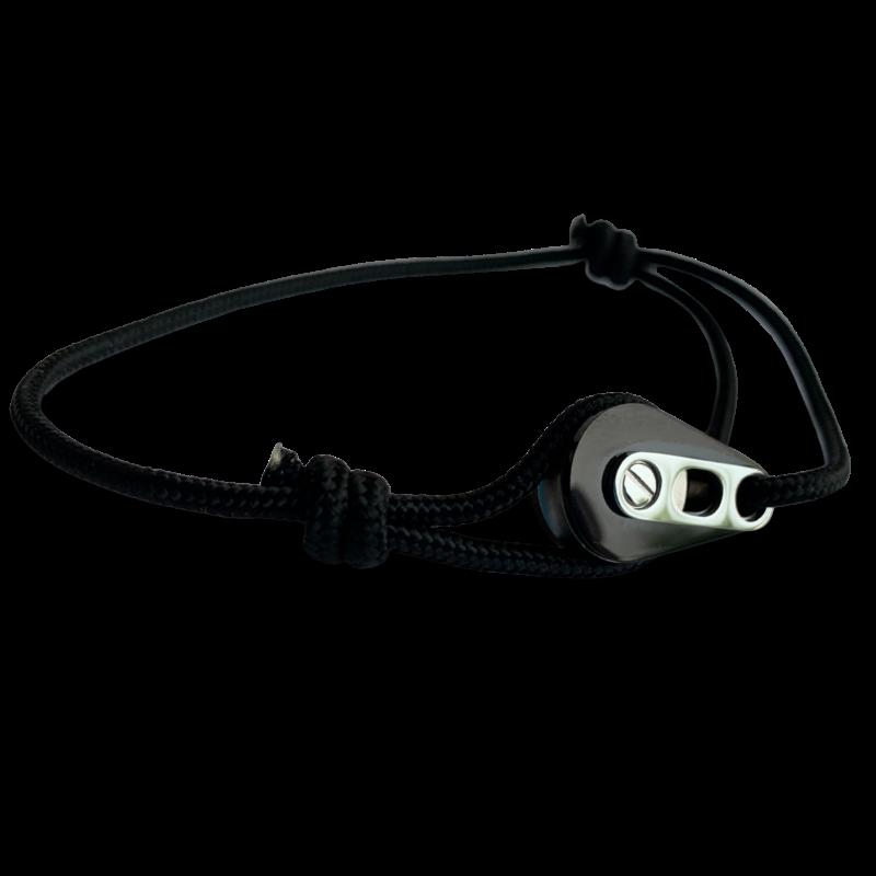 Bracelet PVD noir/acier