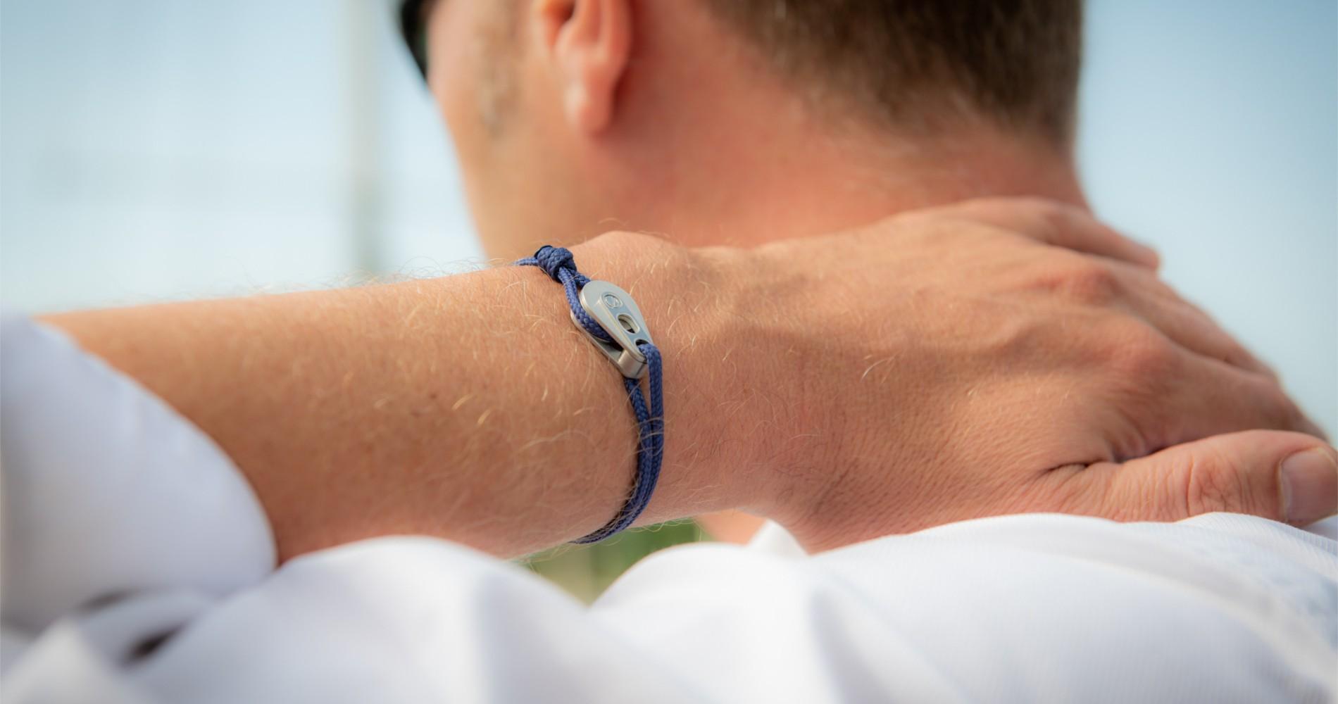 Bracelet marin cou