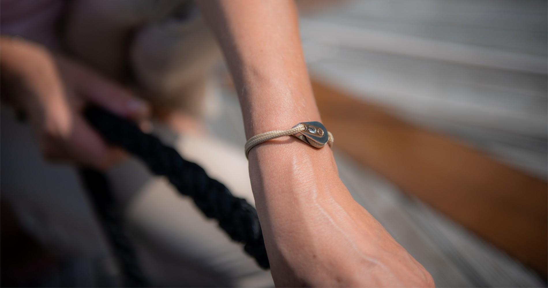 Bracelet marin cordage